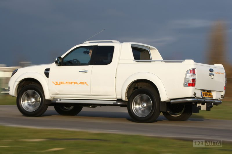 technick data ford ranger double cab 2011 2012 pick up. Black Bedroom Furniture Sets. Home Design Ideas