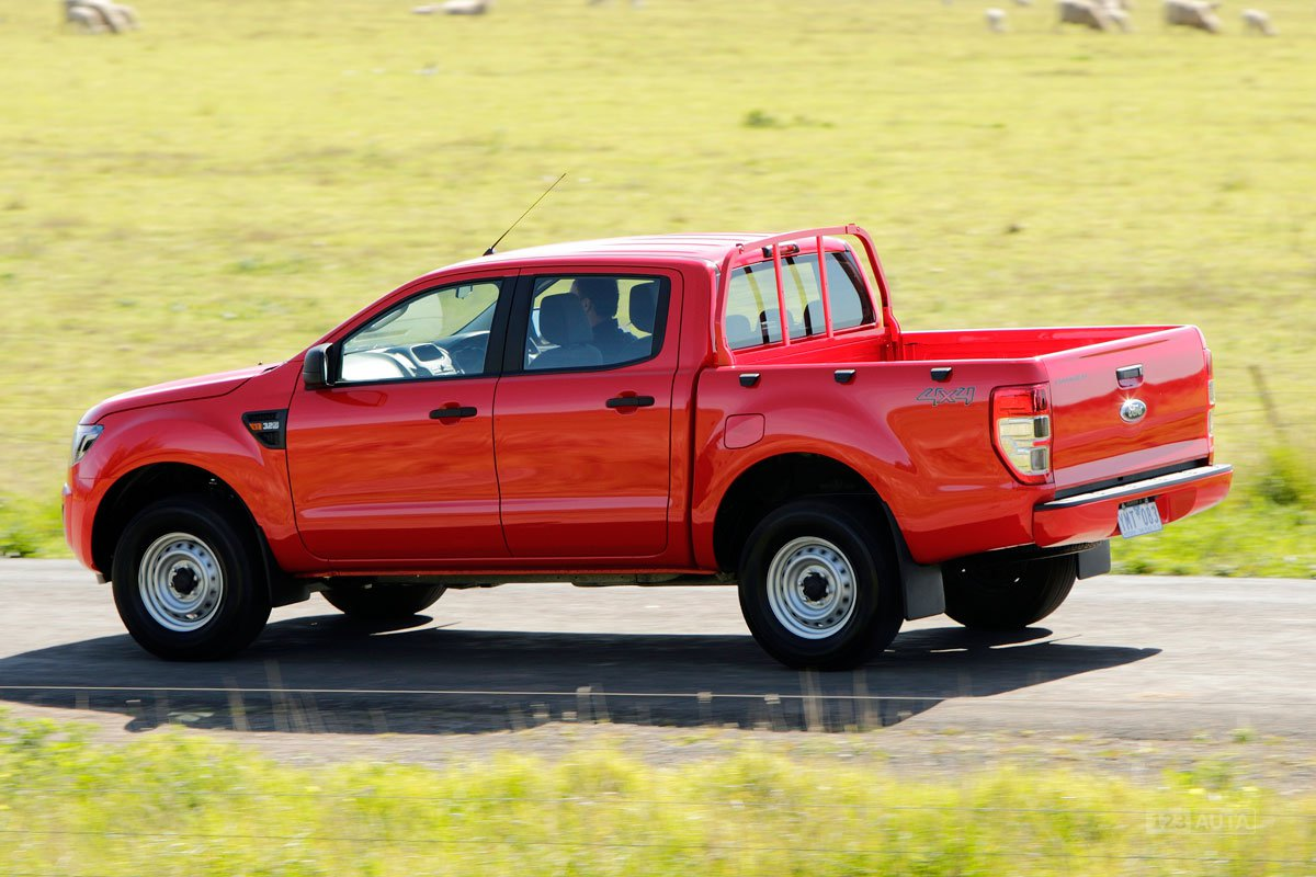 technick data ford ranger double cab 2 2 tdci xl. Black Bedroom Furniture Sets. Home Design Ideas