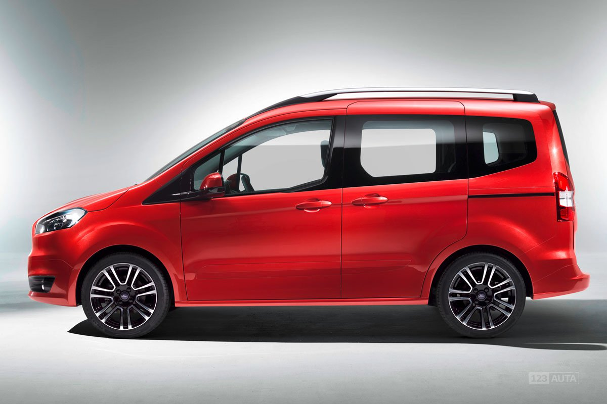 technick data ford tourneo courier 1 0 ecoboost titanium. Black Bedroom Furniture Sets. Home Design Ideas