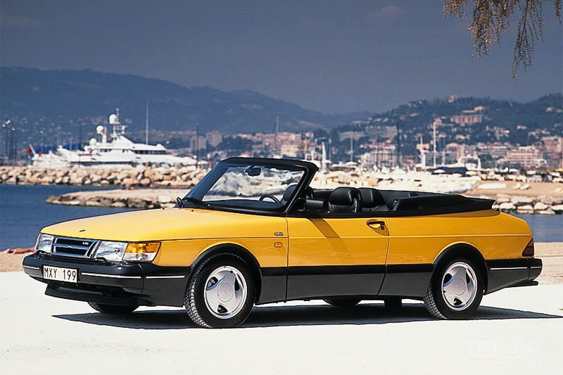 technick data saab 900 cabrio 1986 1994 convertible 2. Black Bedroom Furniture Sets. Home Design Ideas