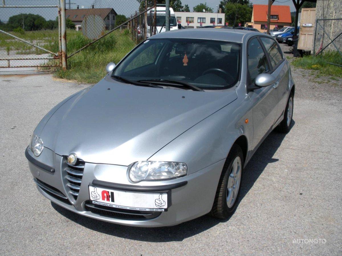 Alfa Romeo 147, 2002 - celkový pohled