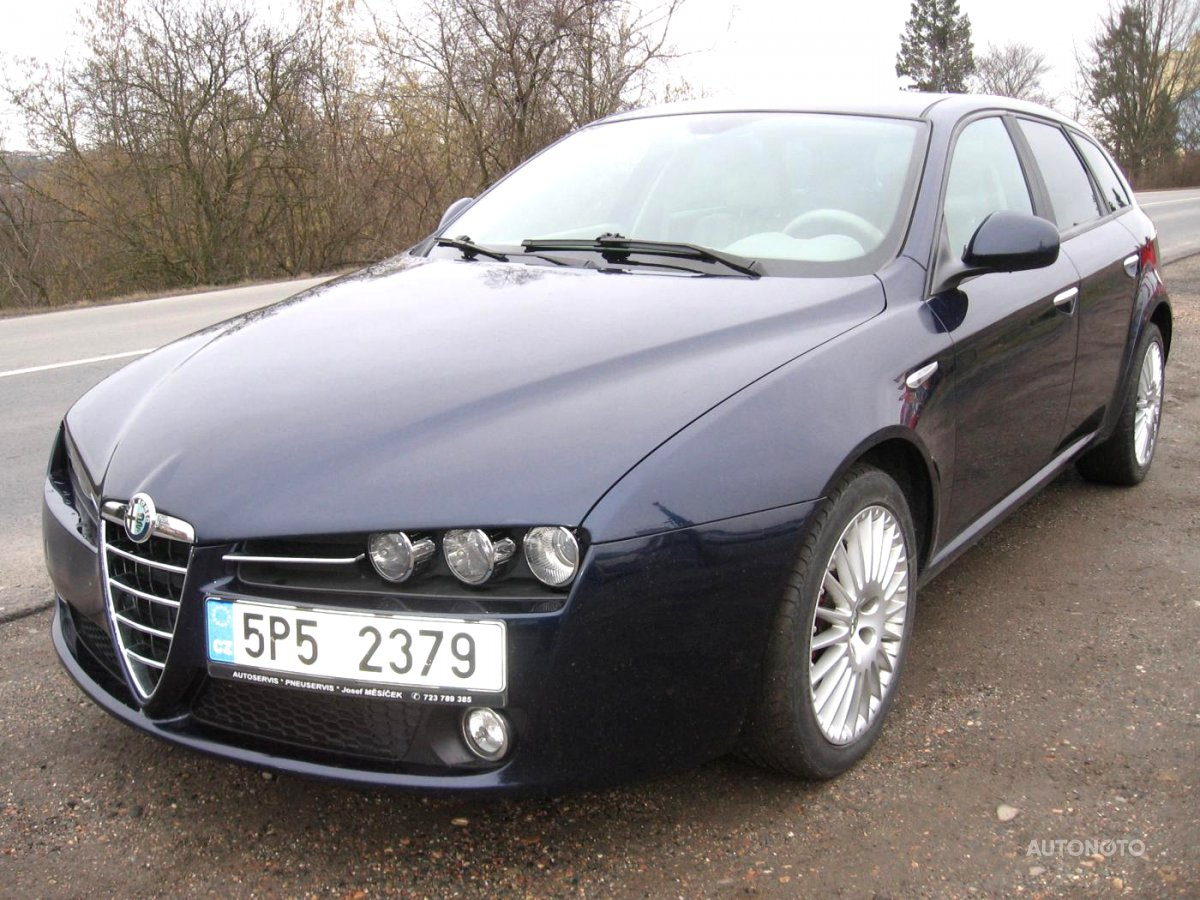 Alfa Romeo 159, 2006 - celkový pohled