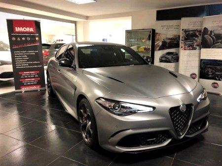 Alfa Romeo Giulia, 2019