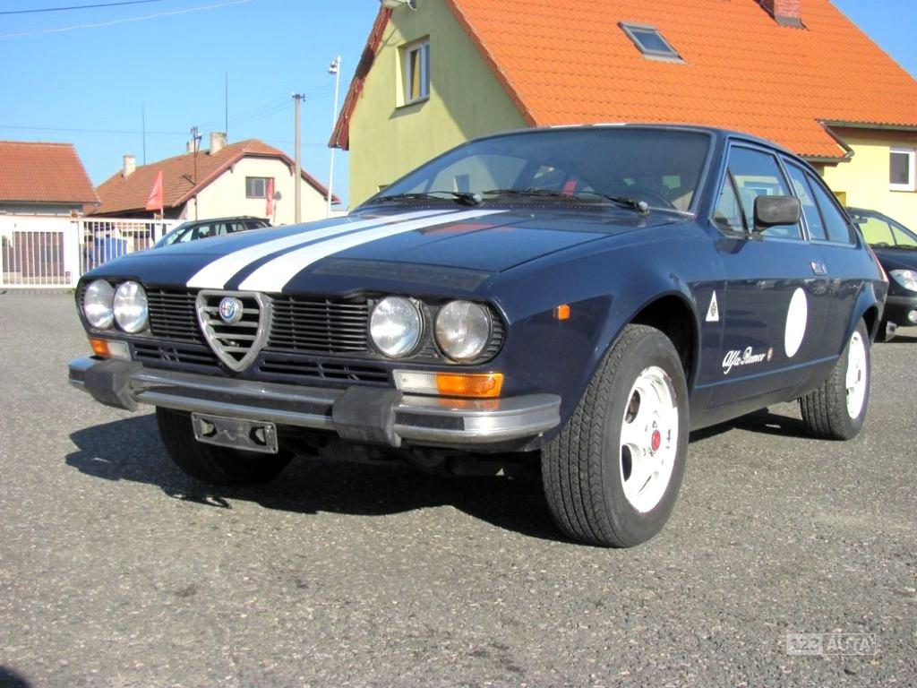 Alfa Romeo GTV, 1978 - celkový pohled