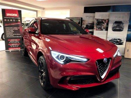 Alfa Romeo Stelvio, 2019