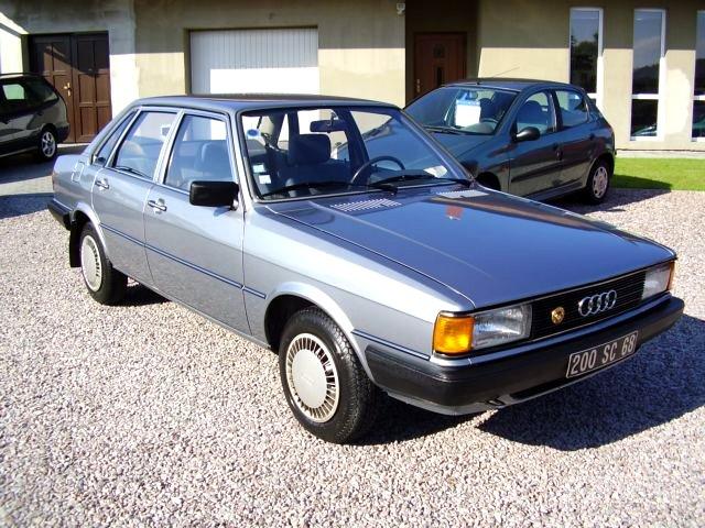 Audi 80, 1982 - celkový pohled