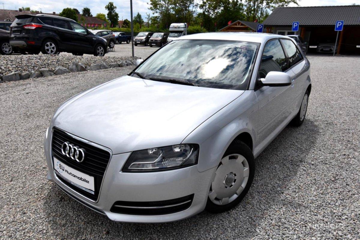 Audi A3, 2012 - celkový pohled
