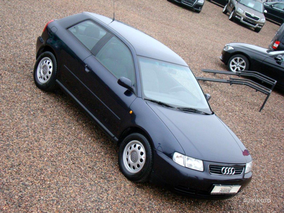 Audi A3, 1998 - celkový pohled