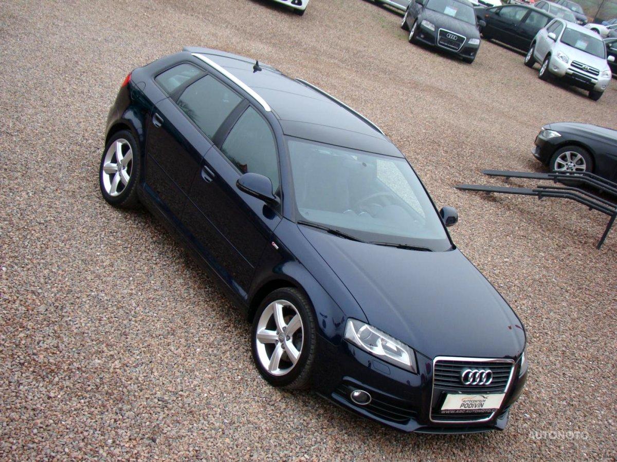Audi A3, 2008 - celkový pohled