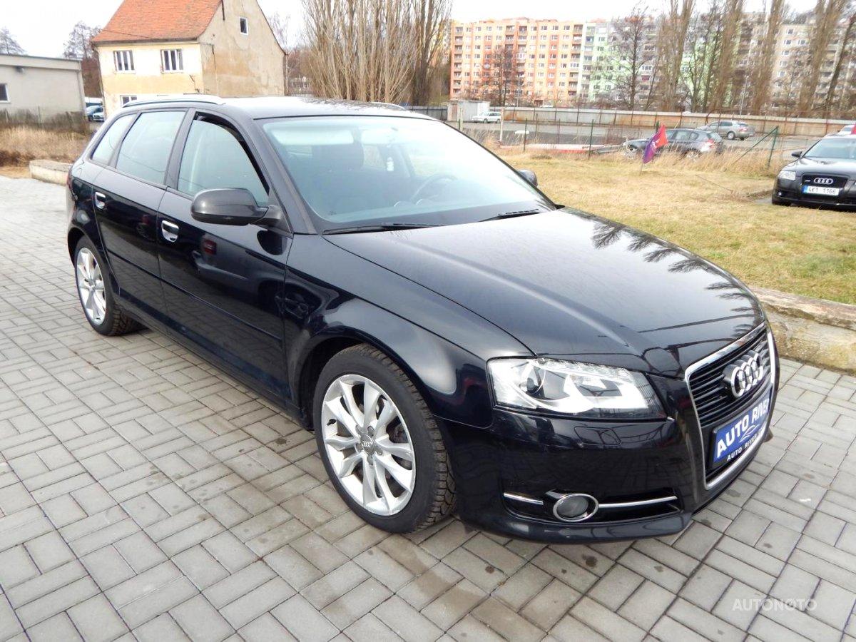 Audi A3, 2010 - celkový pohled