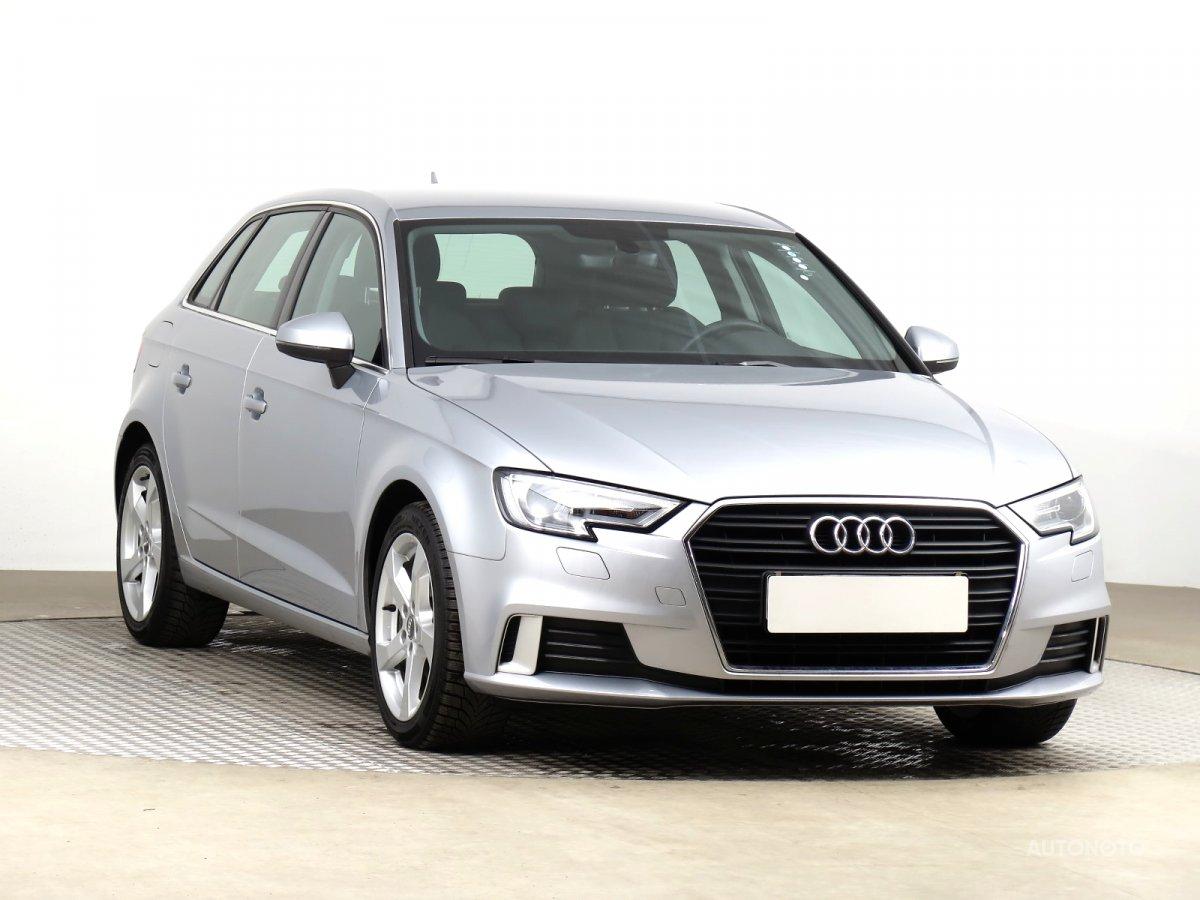 Audi A3, 2017 - celkový pohled