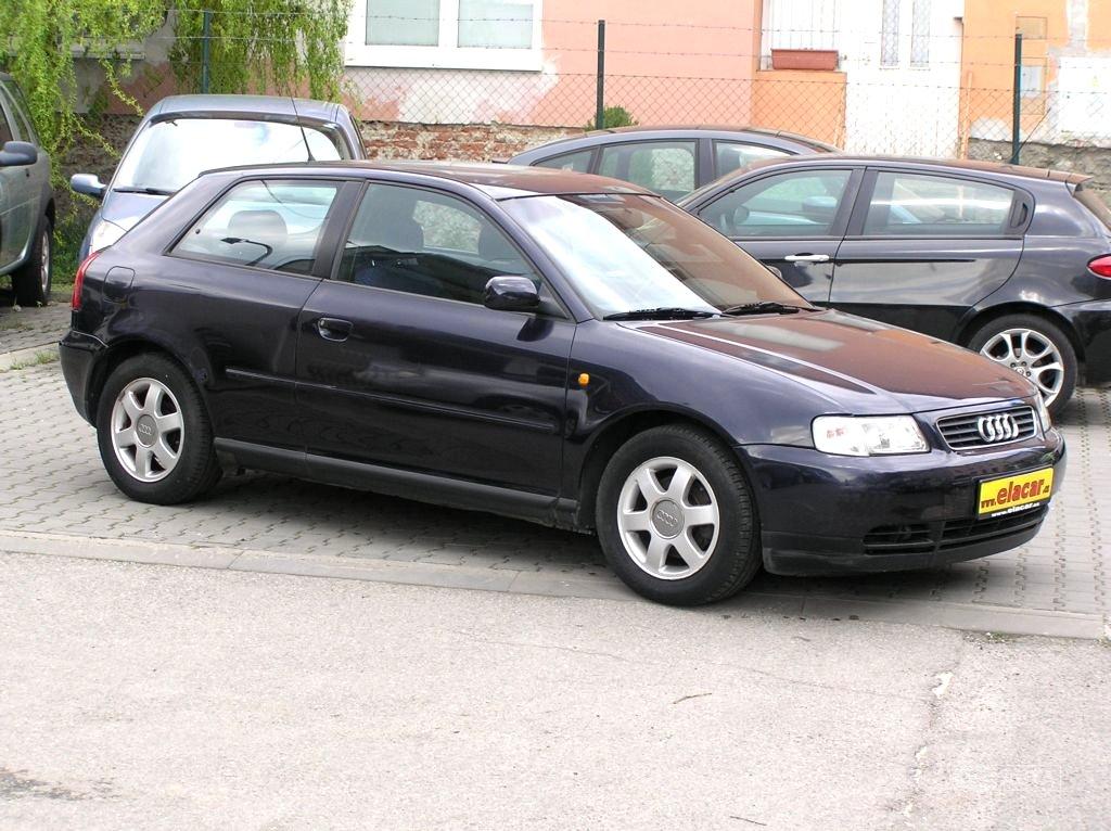 Audi A3, 2000 - celkový pohled