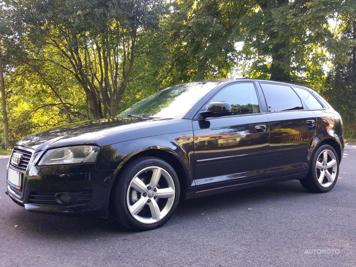 Audi A3, 2009 - celkový pohled