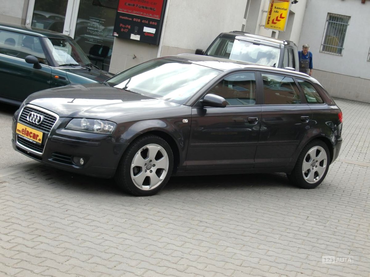 Audi A3, 2007 - celkový pohled