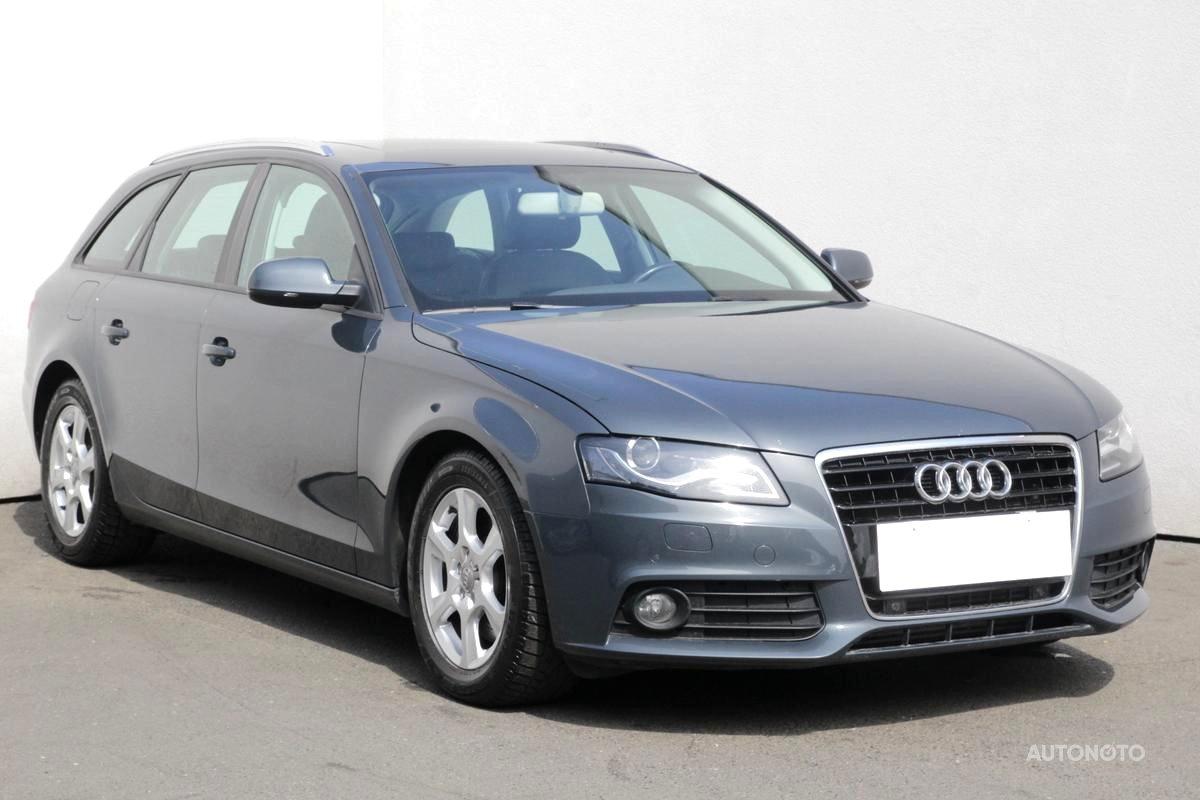 Audi A4, 2010 - celkový pohled