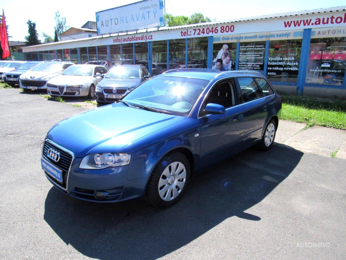 Audi A4, 2007 - celkový pohled