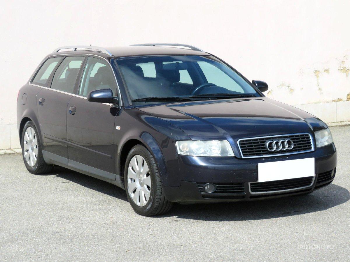 Audi A4, 2002 - celkový pohled