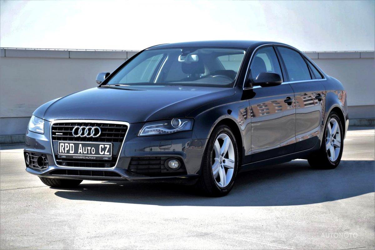 Audi A4, 2011 - celkový pohled