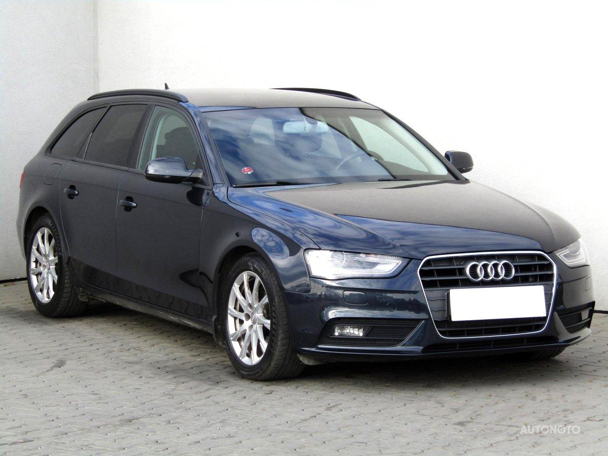 Audi A4, 2013 - celkový pohled