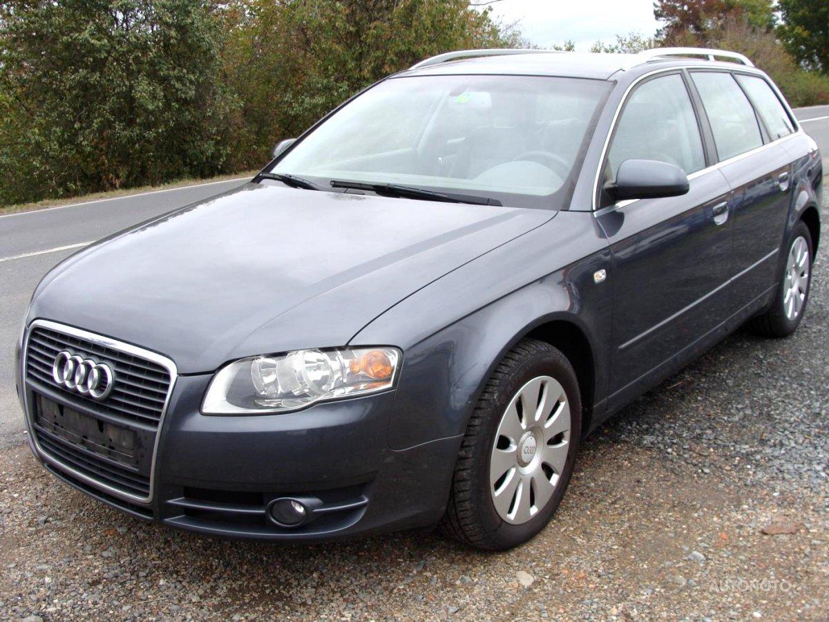 Audi A4, 2004 - celkový pohled