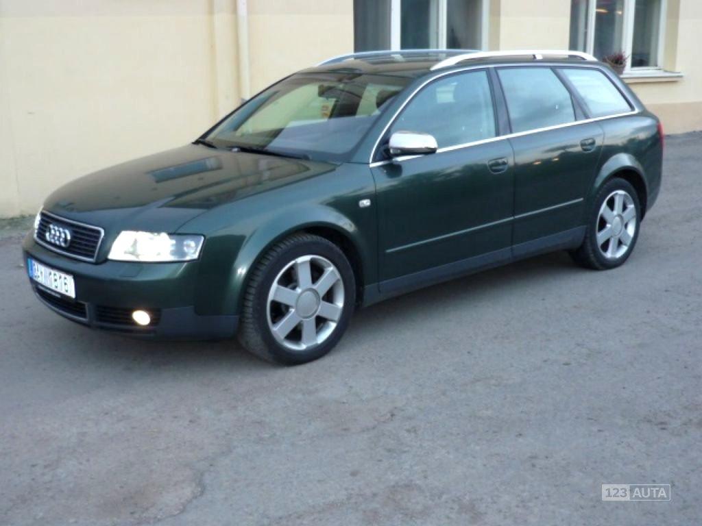 Audi A4, 2003 - celkový pohled
