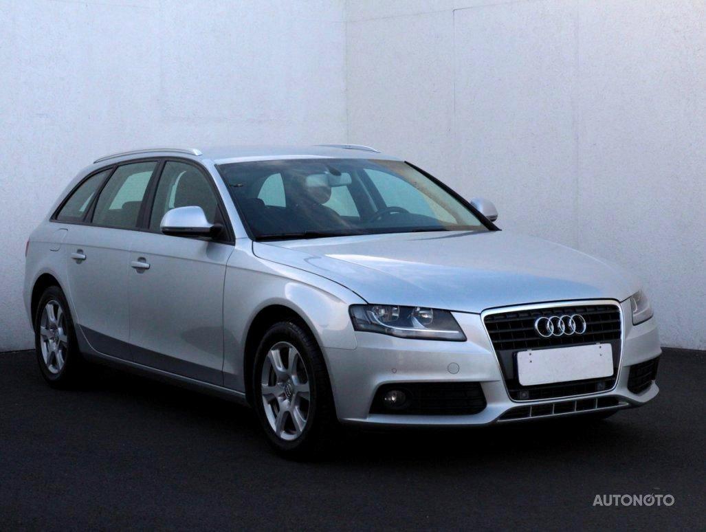 Audi A4, 2008 - celkový pohled