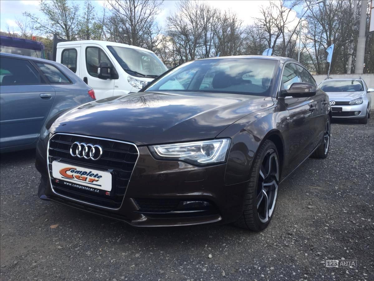 Audi A5, 2012 - celkový pohled