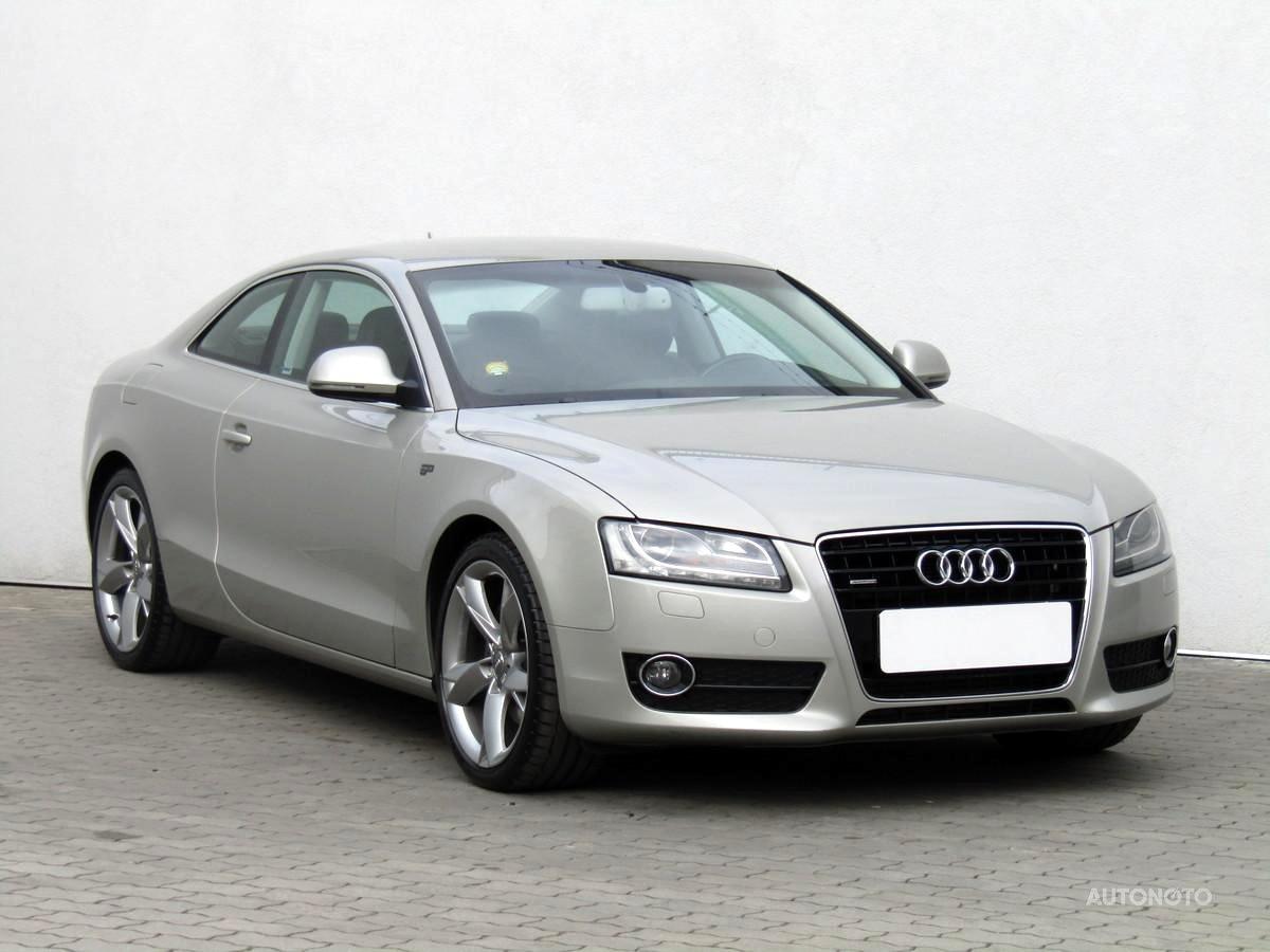 Audi A5, 2007 - celkový pohled
