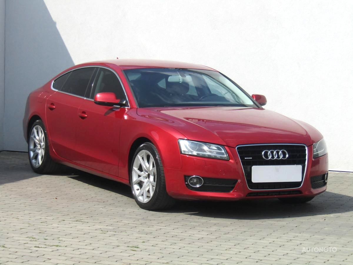 Audi A5, 2011 - celkový pohled