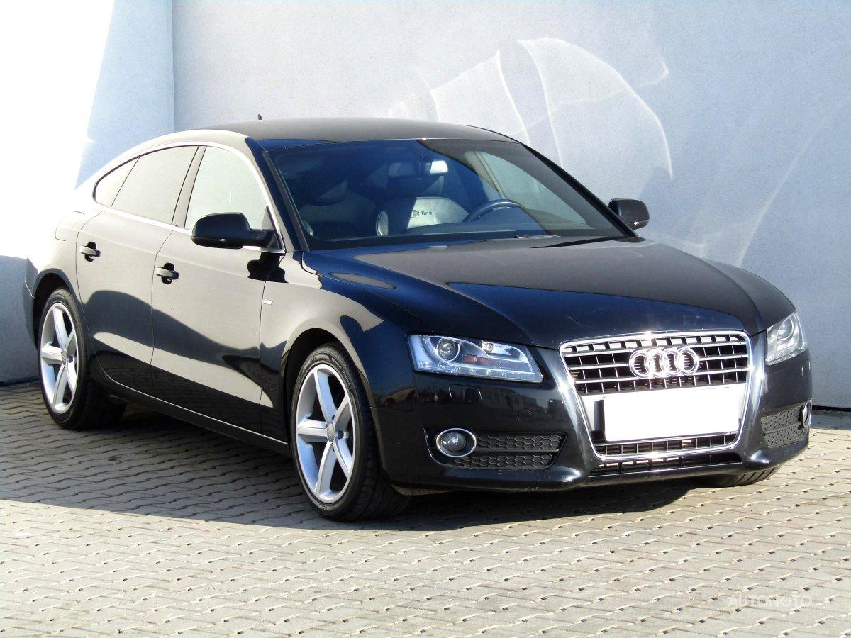 Audi A5, 2010 - celkový pohled
