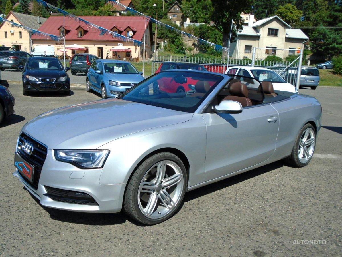 Audi A5, 2013 - celkový pohled