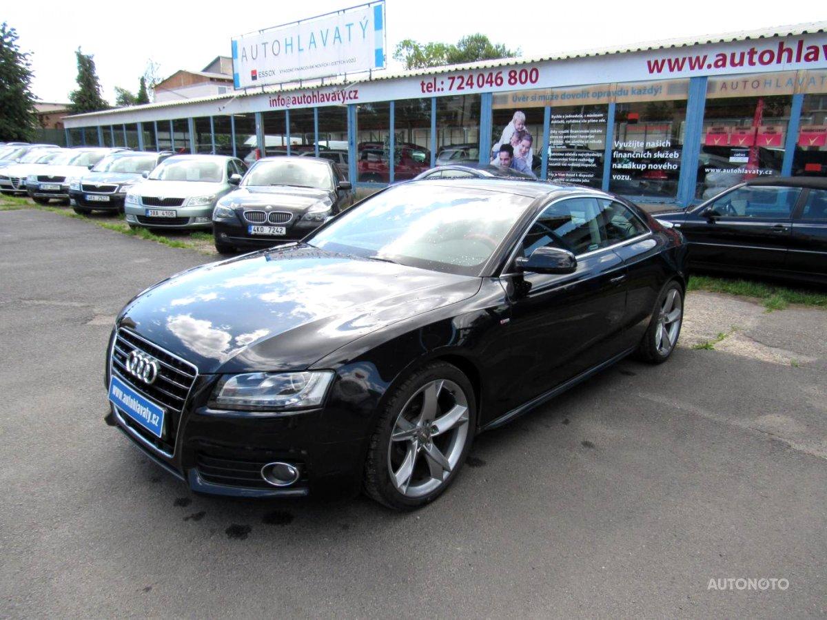 Audi A5, 2009 - celkový pohled