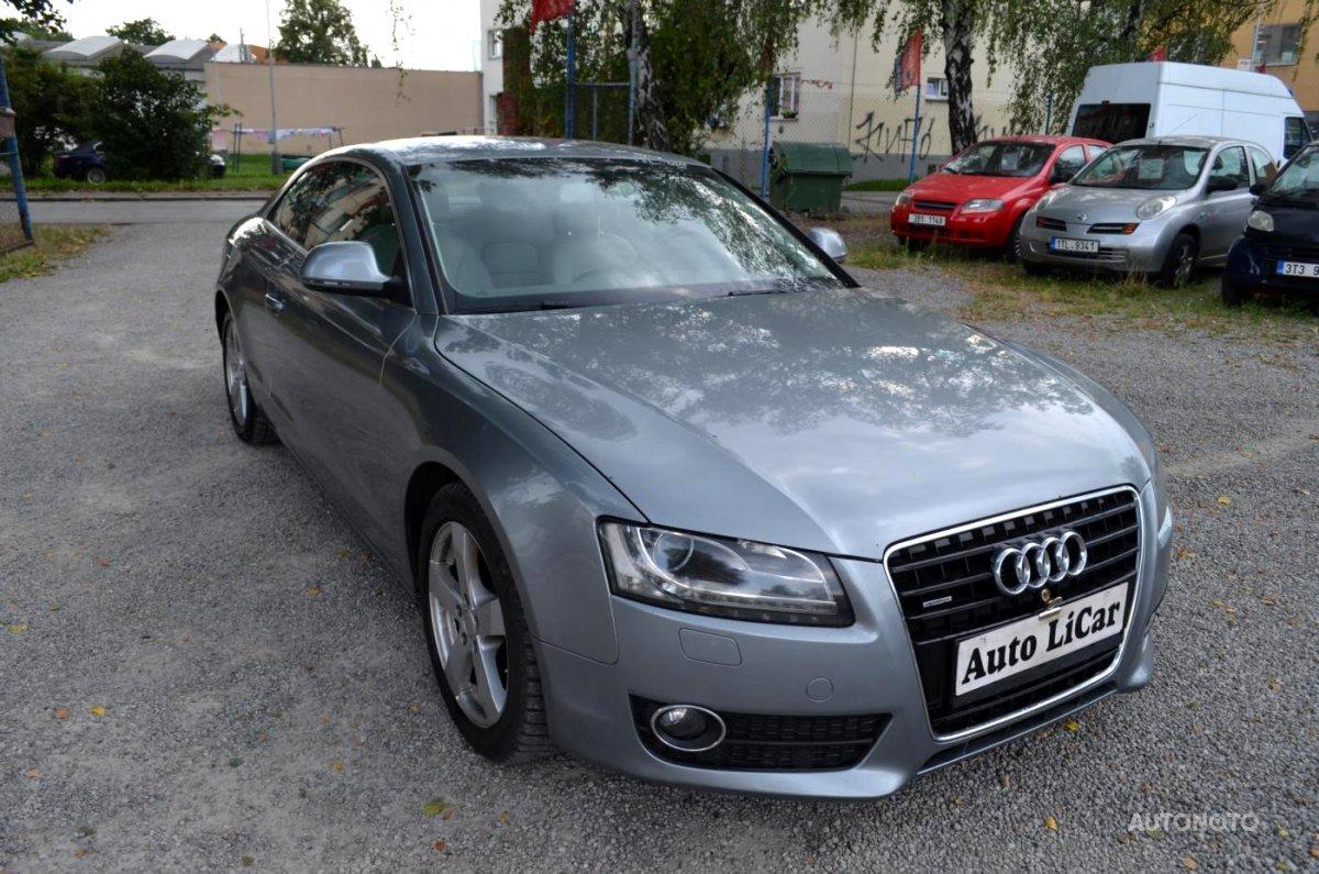 Audi A5, 2008 - celkový pohled