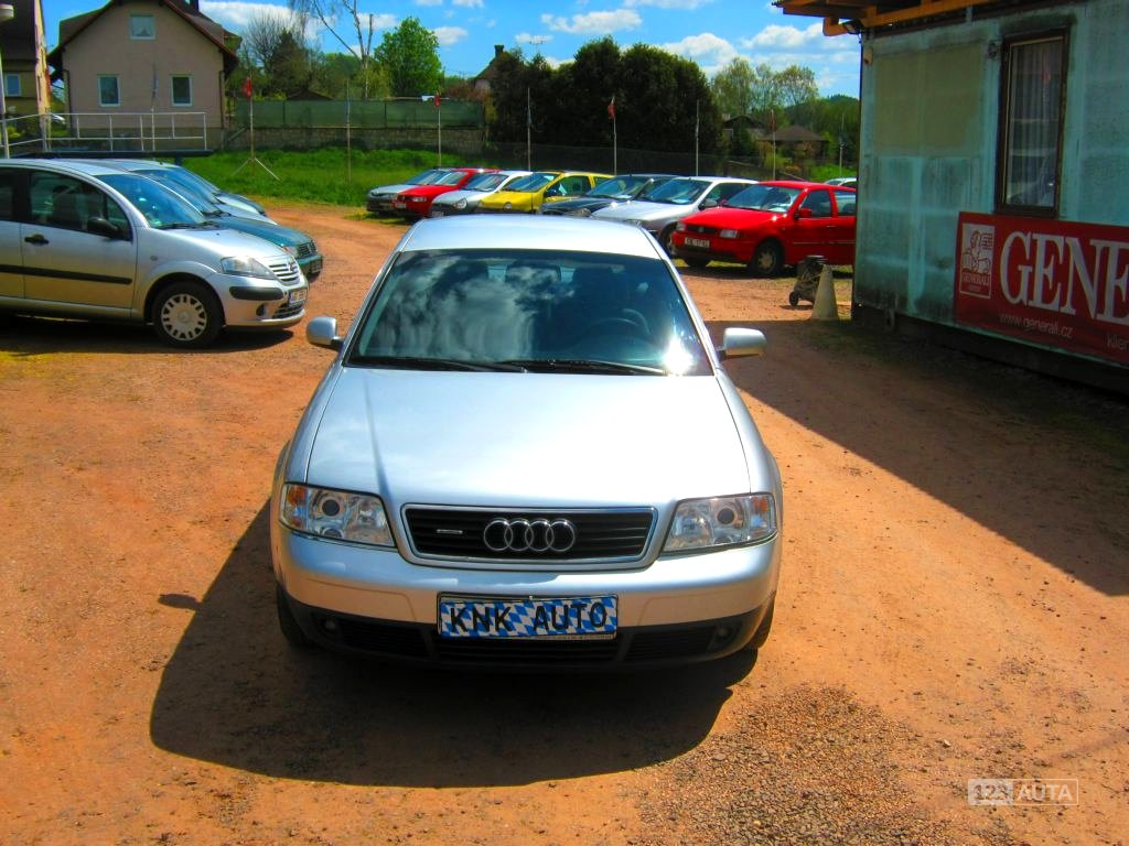 Audi A6 Allroad, 1998 - celkový pohled