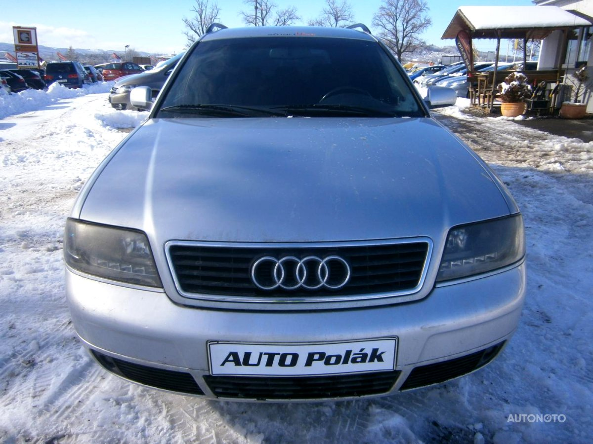 Audi A6, 1998 - celkový pohled