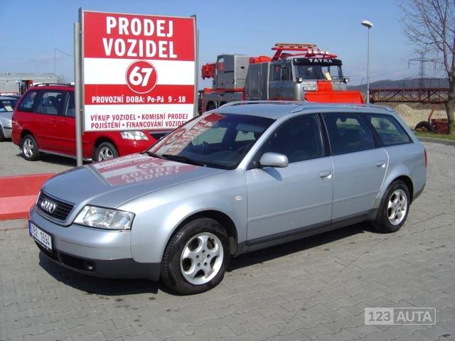 Audi A6, 1999 - celkový pohled
