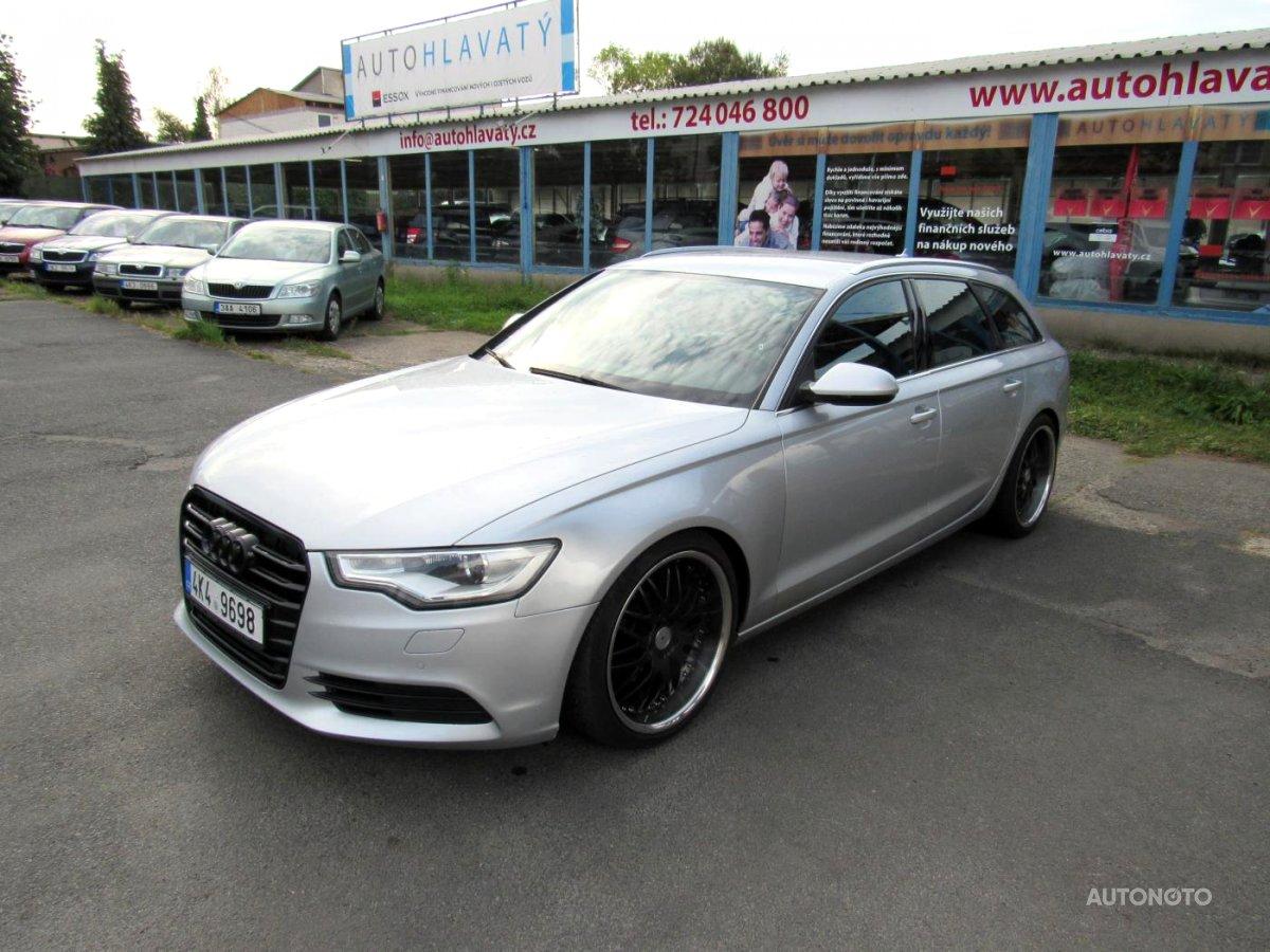 Audi A6, 2011 - celkový pohled