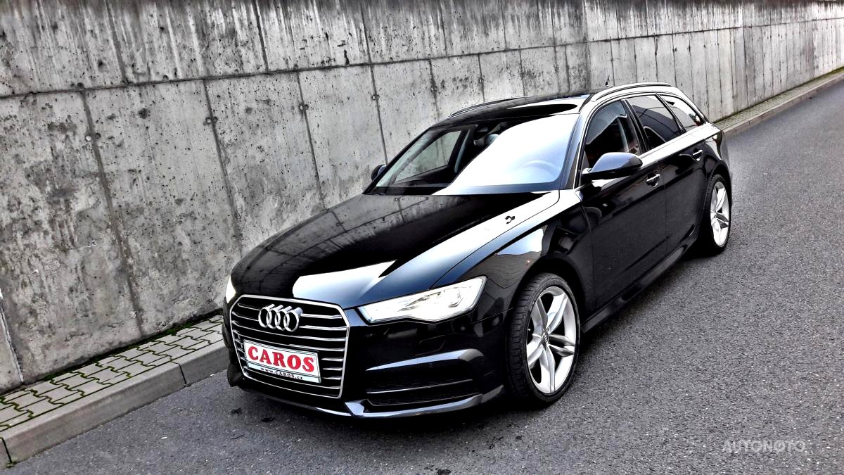 Audi A6, 2017 - celkový pohled