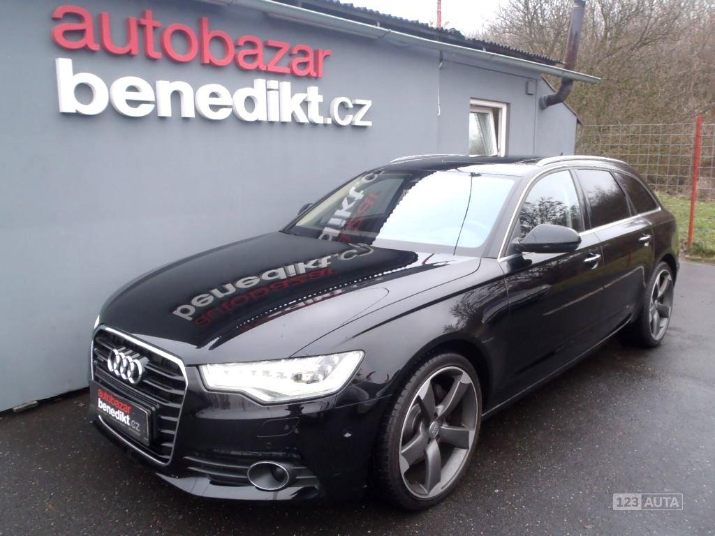 Audi A6, 2013 - celkový pohled