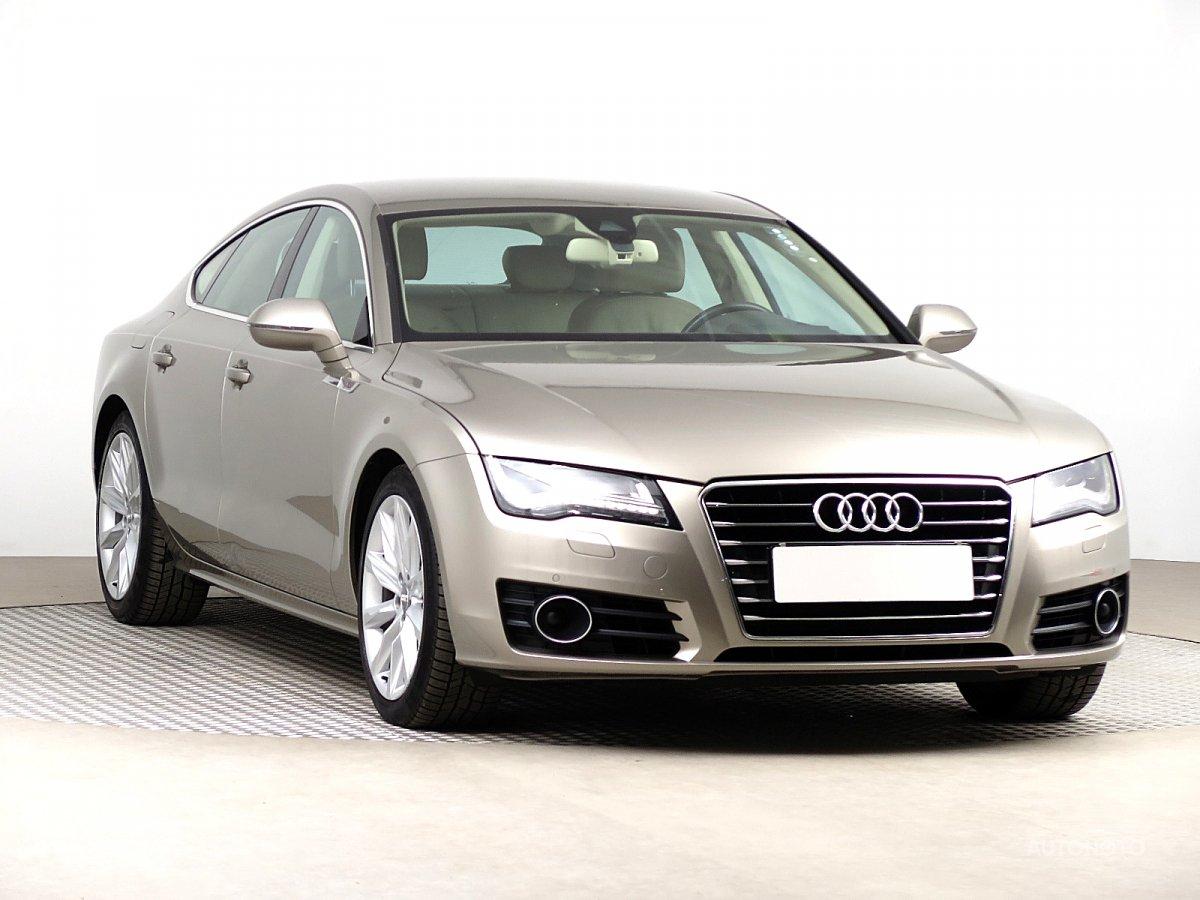 Audi A7, 2010 - celkový pohled