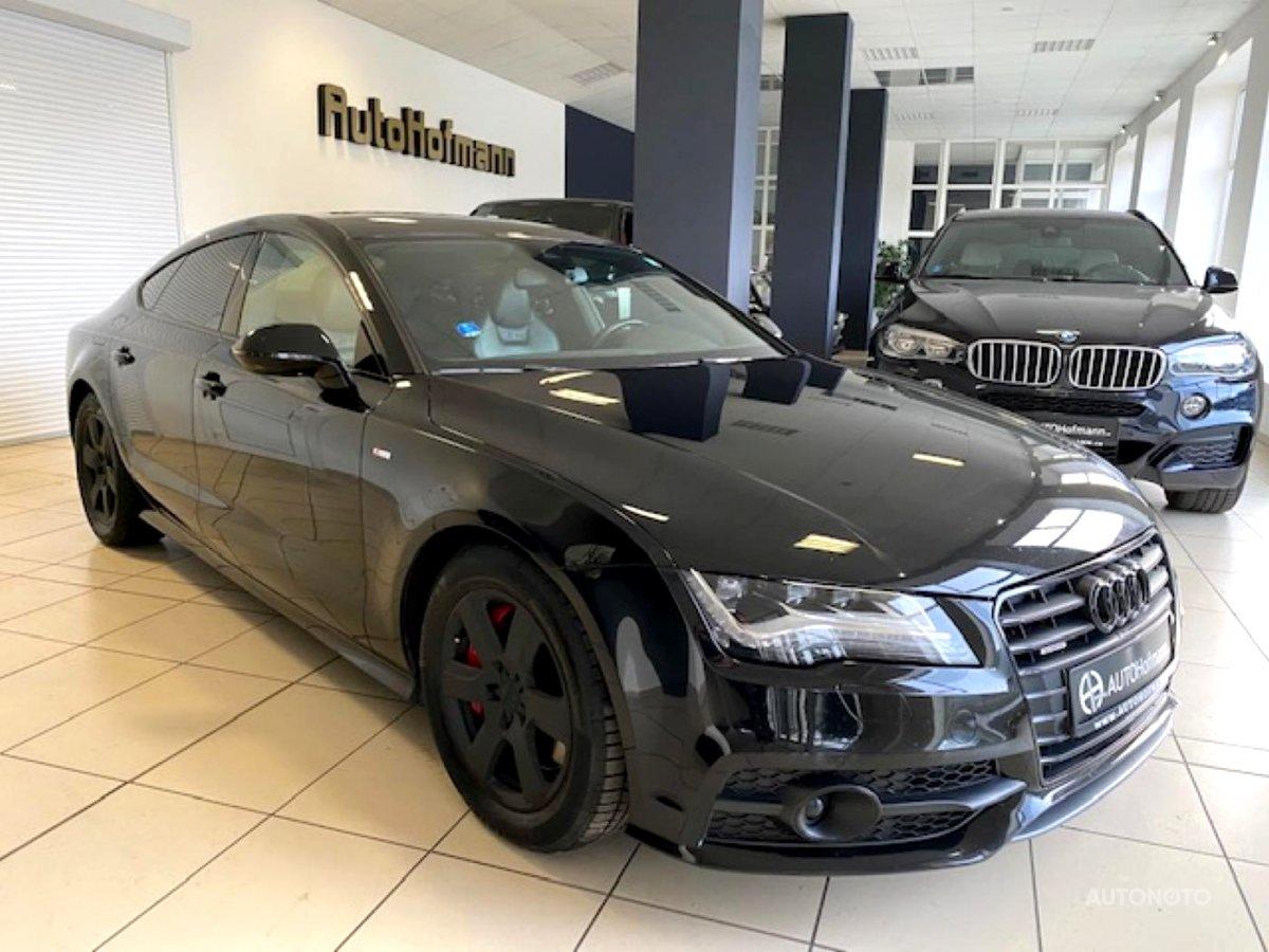 Audi A7, 2014 - celkový pohled