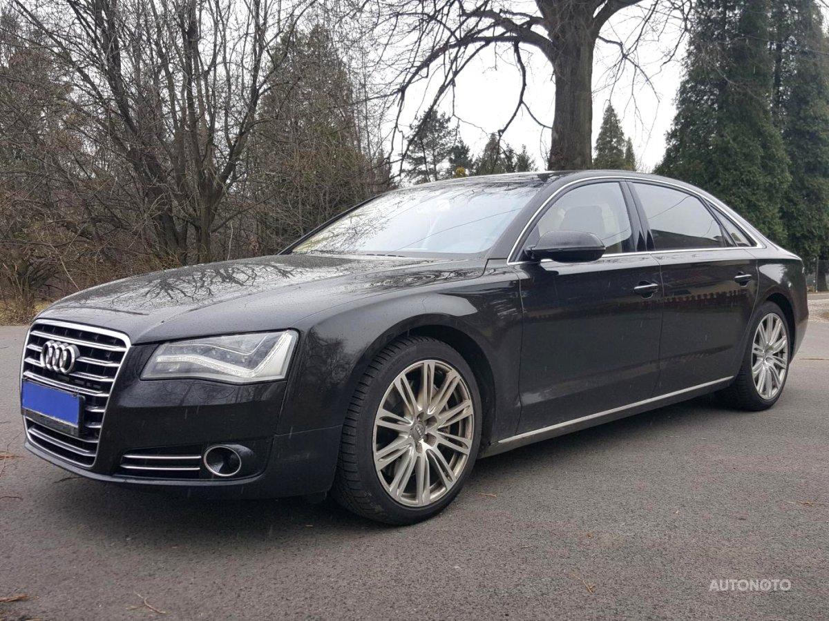 Audi A8, 2011 - celkový pohled