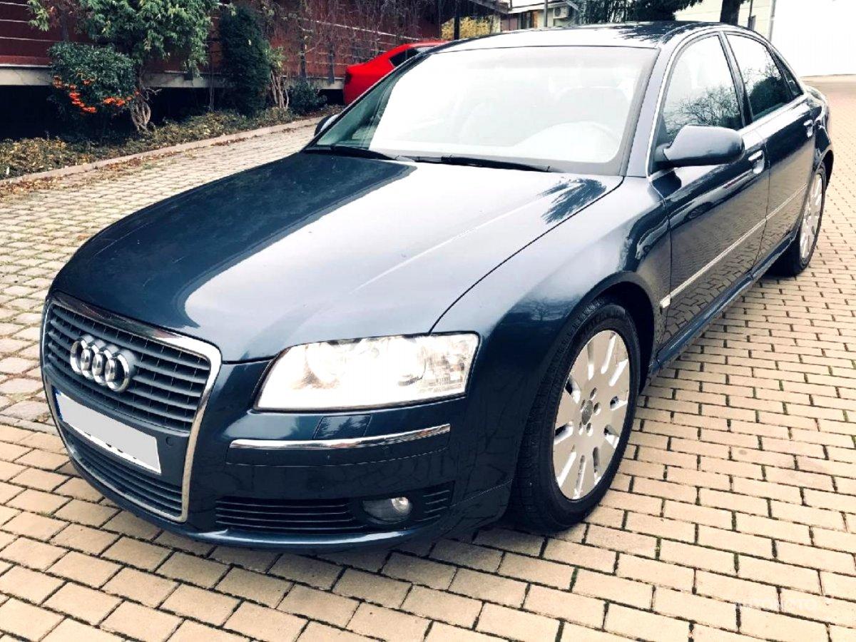 Audi A8, 2005 - celkový pohled