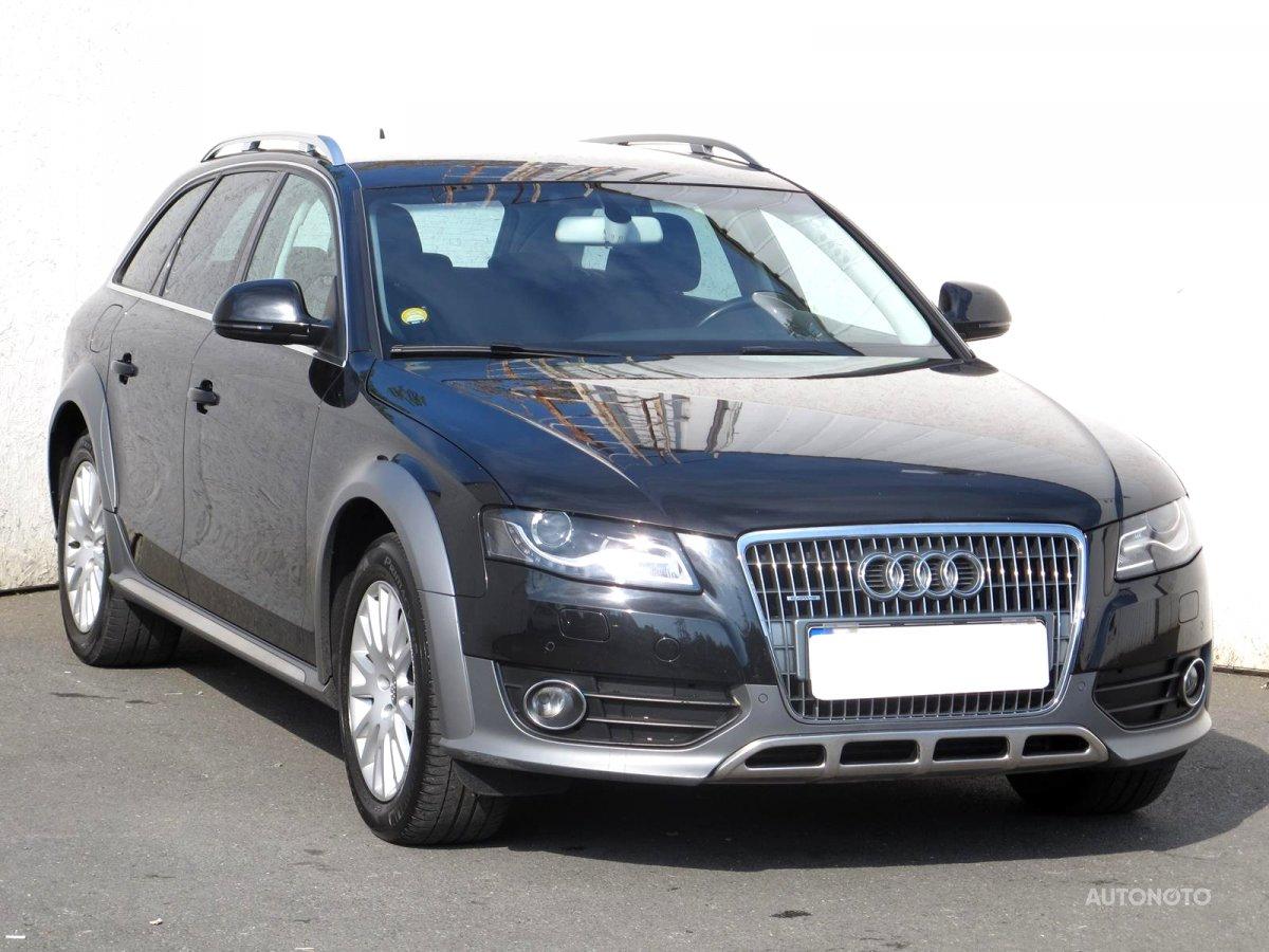 Audi Allroad A4, 2009 - celkový pohled