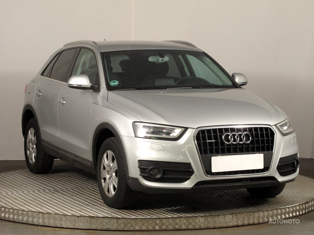 Audi Q3, 2012 - celkový pohled