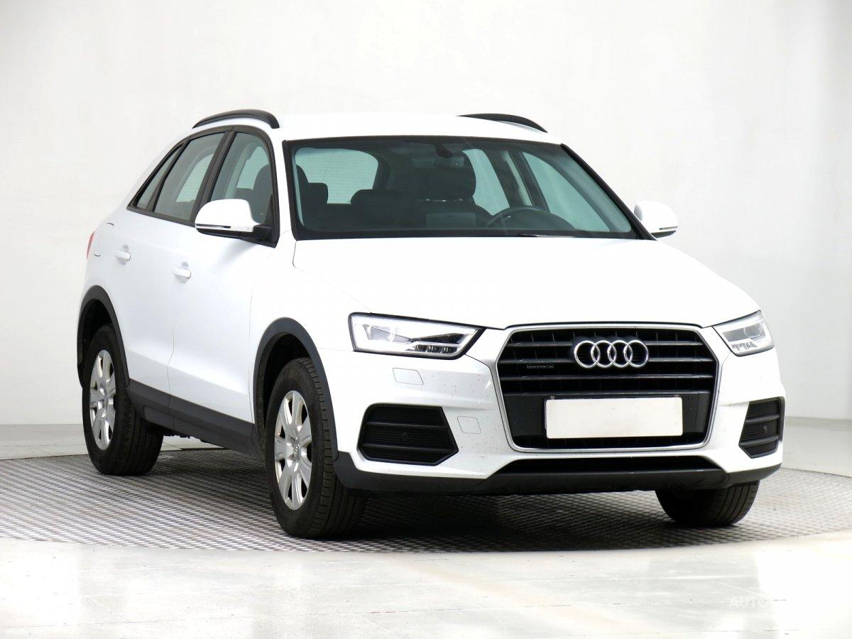 Audi Q3, 2017 - celkový pohled