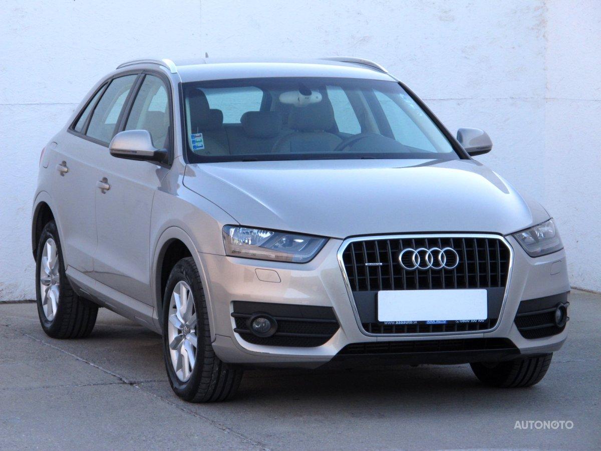 Audi Q3, 2013 - celkový pohled