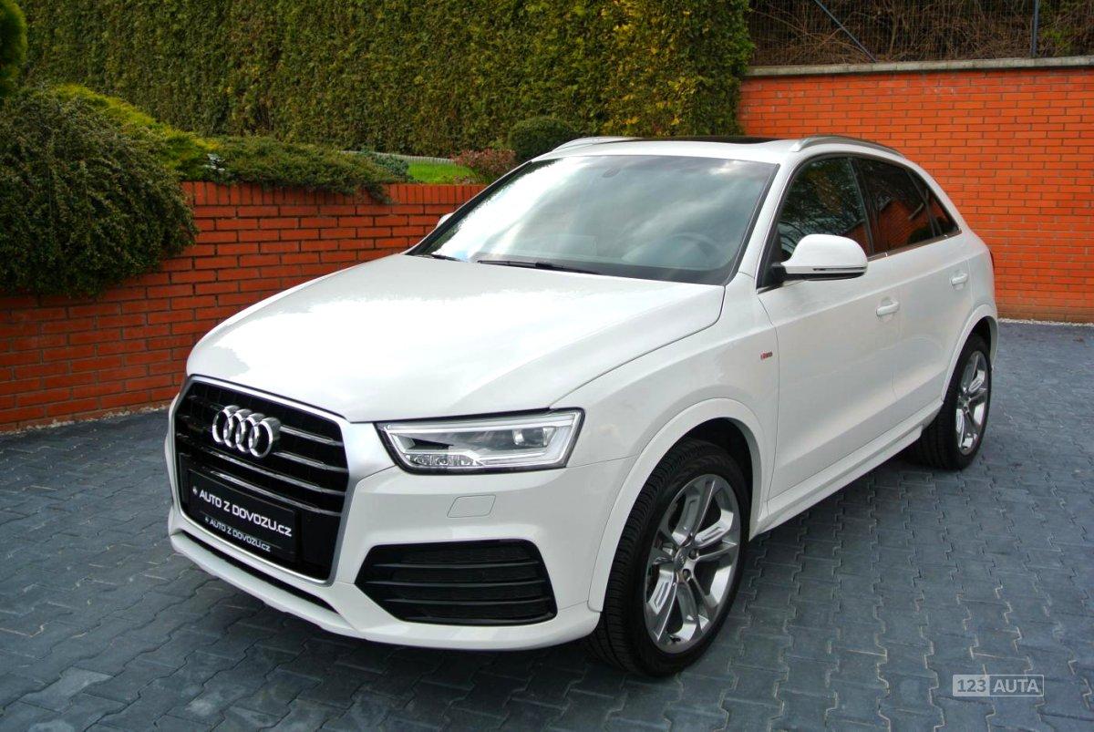 Audi Q3, 2016 - celkový pohled
