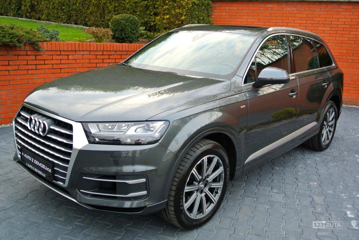 Audi Q7, 2017 - celkový pohled