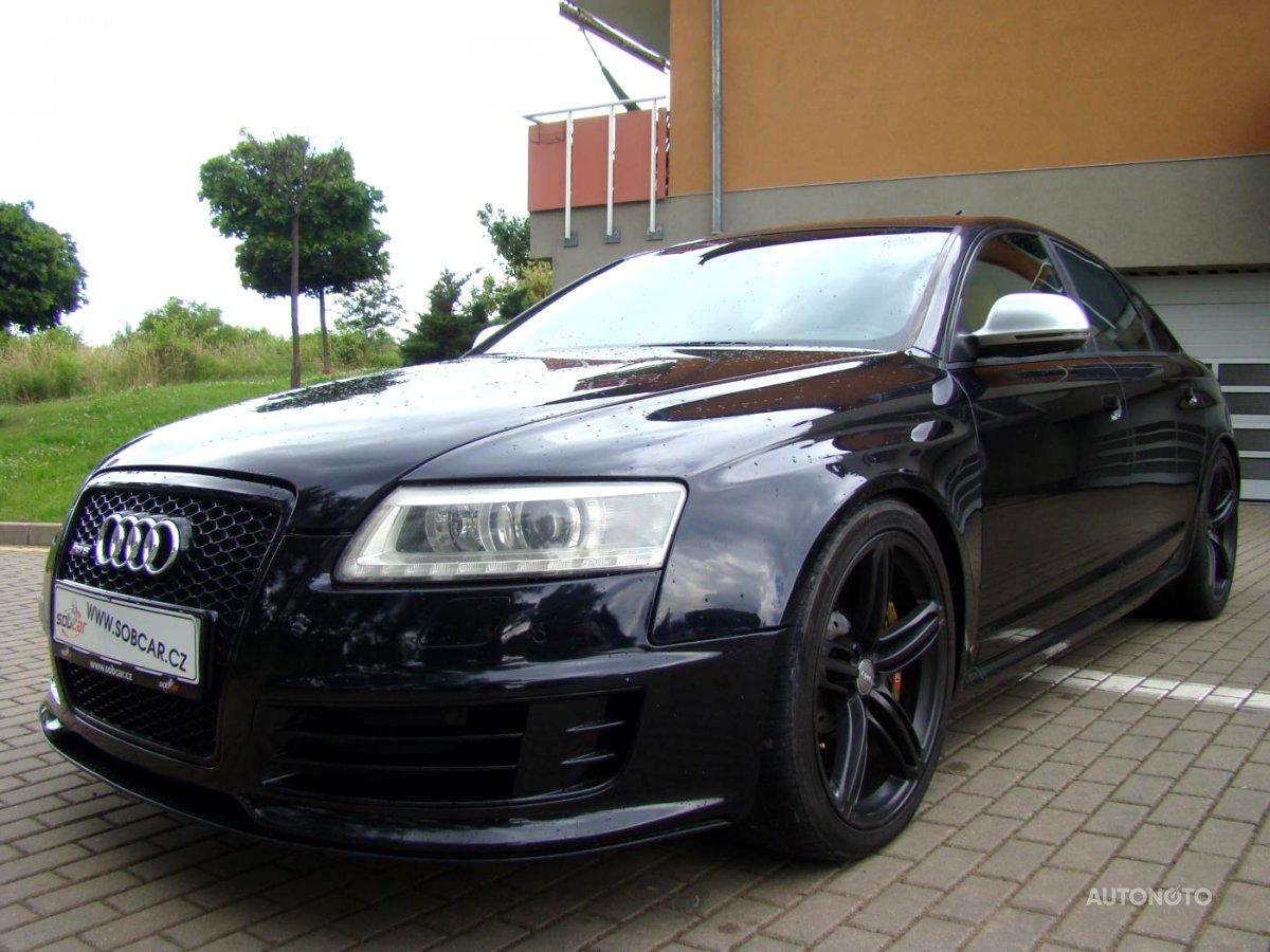 Audi RS6, 0 - celkový pohled